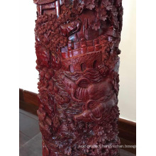 A Grade Red Sandalwood Carving