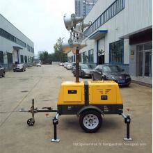 Équipement de tour d'éclairage de générateur silencieux Kipor (FZMT-1000B)