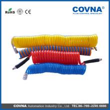 Manguera de plástico flexible tubo corrugado para alambre eléctrico