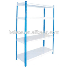 Best selling rivet boltless rack for sale/Iron metal storage slotted angle/High quality slotted angle multi-tier Shelving
