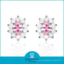 2014 Brincos atacado jóias flor