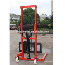 0.5t 1 tonne 2ton 1.5 tonne 1.6m 2m 3m Straddle Hydraulique Main Soulever Manuel main Stacker chariot élévateur avec fourche Réglable