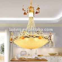 Lumière pendante en cristal moderne unique pour l'éclairage et la décoration