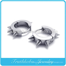 TKB-E0004 Silver Bling para hombre de acero inoxidable quirúrgico aro remache Stud Stud Earring