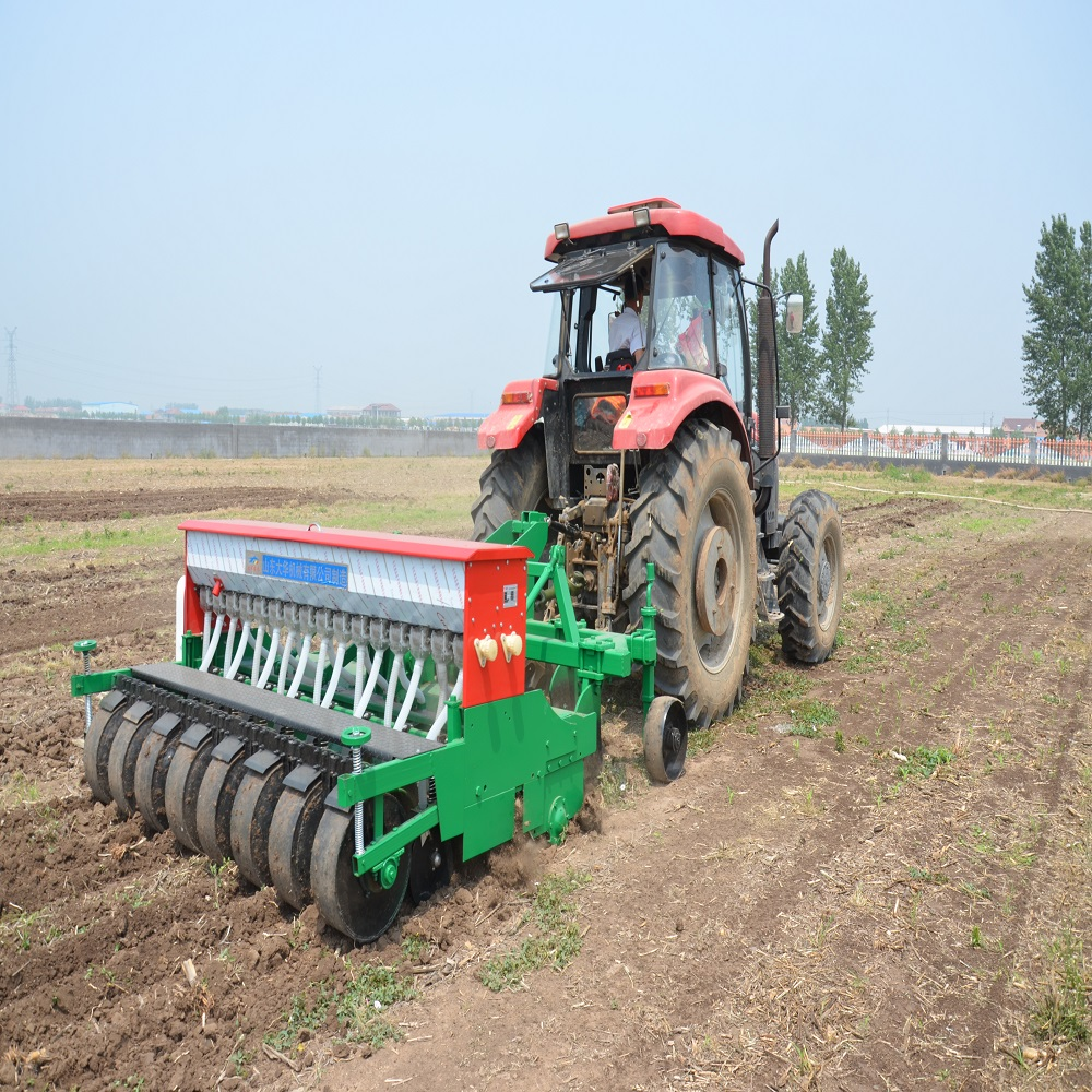 Subsoiling and fertilizing planter