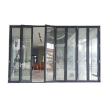 Windows And Doors Vietnam/Bi Folding Doors partition Aluminum Glass Saloon Temporary Doors