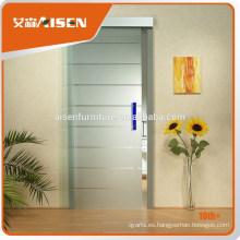 2015 Ventana de cristal de aluminio interior de la puerta corredera hecha en China