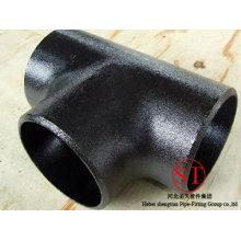 Equal Carbon Steel Butt Welding Steel Tee