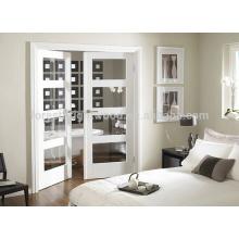 White french door, interior glass door design