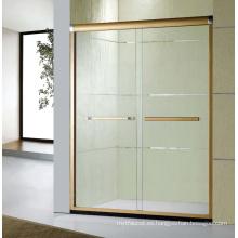 E-3 Pantalla de ducha simple del cuarto de baño del estilo con el marco de aluminio