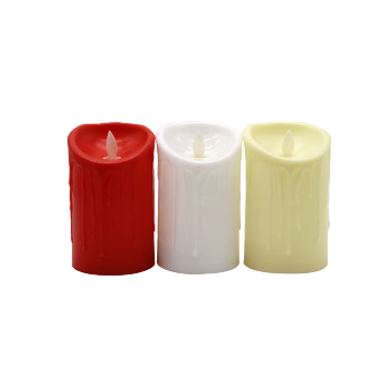 Flickering Pillar LED Candle