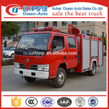 DFAC new condition mini fire fighting truck with 2ton capacity