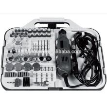 135w para Mail Order portátil Hobby Grinding Rotary Tools acessório conjunto com Flex Shaft Grinder Electric 163pcs Mini Grinder kit