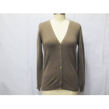 Women Knitwear with Button Long-Sleeve Cardigan Sweater