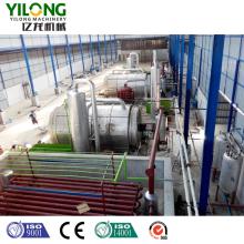 Converting Plastic to Diesel Fuel Oil Plant