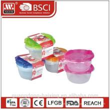Micro-onde en plastique alimentaire contenant 1.5L(2pc)