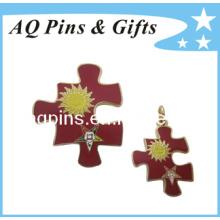 Preço de Fábrica Broche de Metal Pin Badge de Alta Qualidade (badge-035)