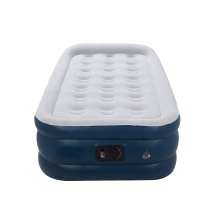 Airbed Premium Series Raised Easy Inflate Flocked Cushions with Electric Pump Large