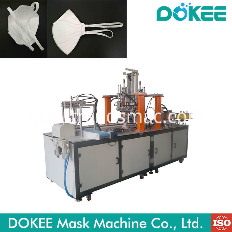 Automatic Folding Mask Head Strap Earloop Welding Machine