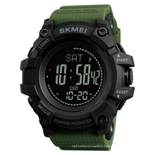 SKMEI 1356 Men Military Sports Watches Compass Pedometer Calories Male Watch Digital Waterproof Electronic wristwatch