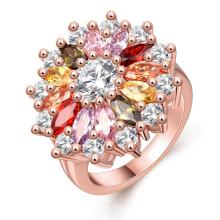 Anéis de pedras preciosas Jóias de joalharia de prata