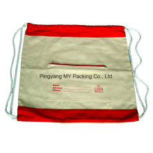 100% Organic Non Woven Cotton Bag Drawstring