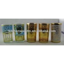 Haonai Glass 6pcs Glass Tea Set