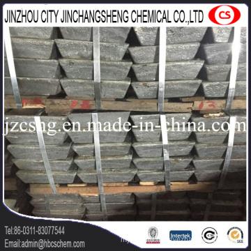 Storage Battery Use Antimony Sb Metal Ingot 99.65%Min