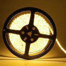 2835 LED Strip, Warm White 3000K 600LEDs 16.4Ft DC12V CRI80, Waterproof IP65 led strip light for indoor/outdoor