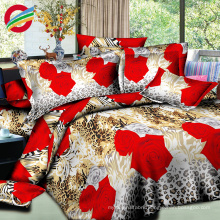 beautiful 100% cotton 3d printing bed sheet for sale