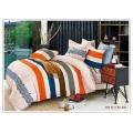 Pigment de coton imprimé ensemble drap de lit /Duvet la couverture de l'ensemble