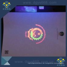 UV Logo Sicherheitszertifikat Druck