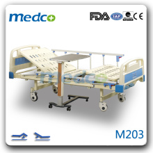 M203 Duas manivelas Manual ICU Bed