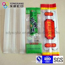 Bolsa de embalaje de plástico con fuelle lateral para alimentos diarios