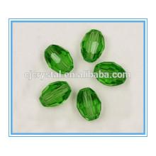 Perlas de cristal chino cuentas de forma oval al por mayor