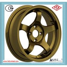 Rodas de liga leve de 13 polegadas com PCD 4X114.3 para carros