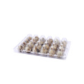Wholesale 12 cells clear plastic quail egg tray