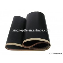Non-stick white and black PTFE sealing belt