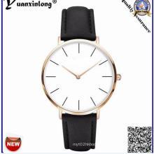 Yxl-937 Luxury Fashion Leather Men Blue Ray Glass Quartz Analog Watches Casual Cool Watch Men