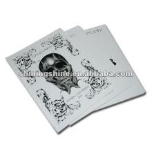 2016 hot sale skull tattoo design book