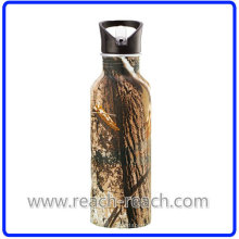 Botella de agua de beber/viajes/bicicletas aluminio (R-4041)