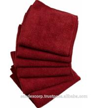Microfiber dish cleaning towel