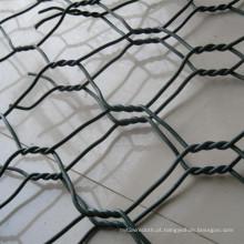China Fábrica Venda PVC Revestido Galvanizado Hexagonal Gabião Malha