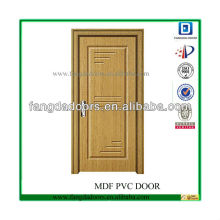 conceptions de porte principale en bois de teck pressées en profondeur