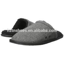 2016 Hot Selling deslizadores chinelos para homens Flat Bedroon chinelo