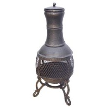 Gusseisen Chimenea (FSL-040) Stahl chimenea Feuerstelle