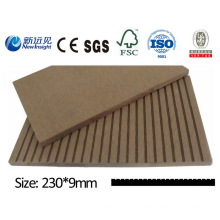 High Quality WPC Plank with SGS CE Fsc ISO WPC Wall Panle WPC Cladding Decorative Board Wood Plastic Composite Lhma034