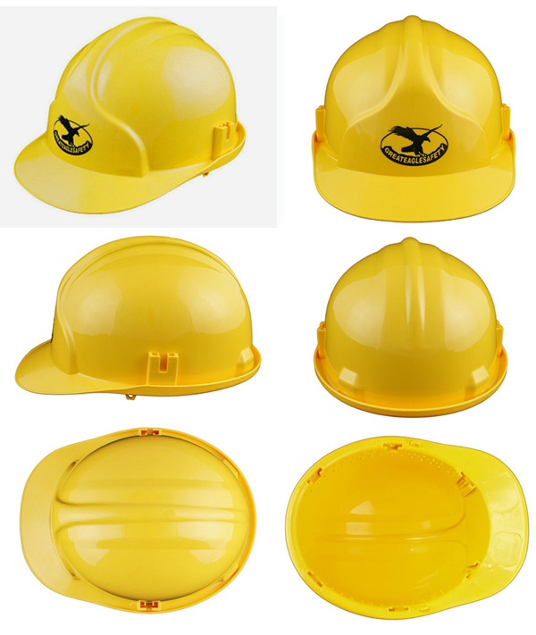 Safety Helmet with 6 Points Suspension