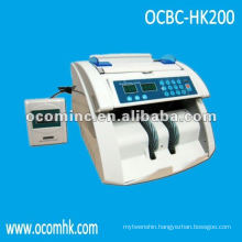 OCBC-HK200 --- Hot Selling High Counting Speed UV And MG Detection Currency Counting Machine