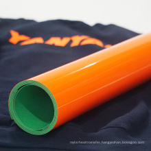 Factory wholesale color 3d silicone raised heat transfer vinyl roll htv for shirt clothing